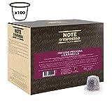Note D'Espresso Infuso prugna e cannella in capsule, 3 g x 100 Esclusivamente Compatibili con le macchine per caffè a capsule Nespresso*