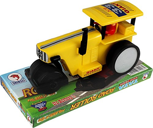 Shinsei Toys Shinsei Yellow Road Roller