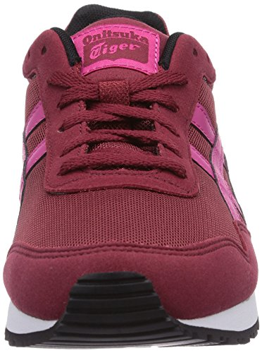 Onistuka Tiger Curreo, Chaussures de basket-ball femme Rouge (2518-Burgundy/Magenta)