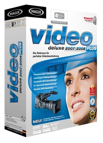 MAGIX Video deluxe 2007/2008 Plus