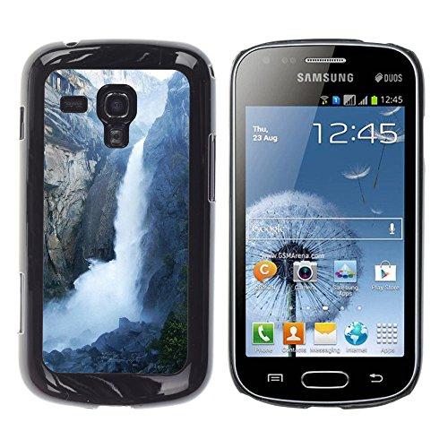 FJCases Cascadas Naturaleza Río Agua Carcasa Funda Rigida para Samsung Galaxy S Duos / Galaxy Trend