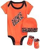 Nike bebé Juego de Body, Gorro y Patucos, tamaño: 0–6Meses