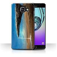 Officiel Chris Cold Coque / Etui pour Samsung Galaxy A5 (2016) / Exoplanétaire Design / Monde Galactique Collection