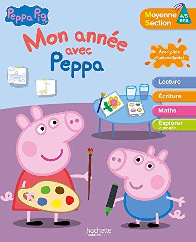 Mon année avec Peppa Pig MS 4/5 ans par Collectif