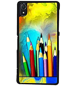 PRINTSWAG PAINTING Designer Back Cover Case for SONY XPERIA Z2