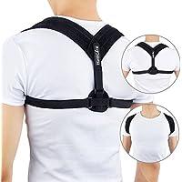 HailiCare Verstellbare Haltungskorrektur Geradehalter Einstellbare Größe Schulter Rücken Unterstützung für Männer... preisvergleich bei billige-tabletten.eu