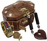 Best Cross Jewelry Boxes - SKAVIJ Jewellery Organizer Box for Women Handmade Wooden Review