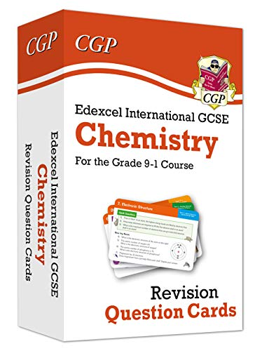 New Grade 9-1 Edexcel International GCSE Chemistry: Revision Question Cards