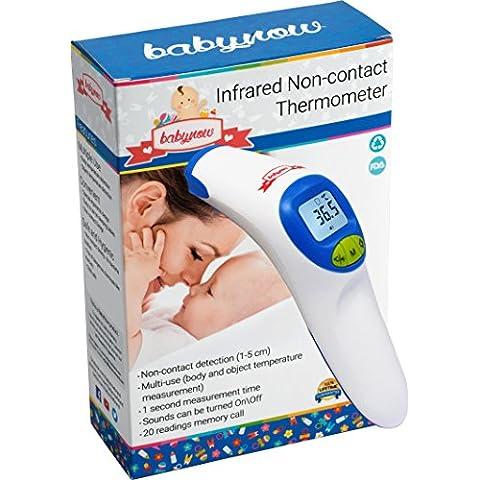 Babynow Digital termómetro sin contacto diseño con médicos Triple Scan tecnología dispositivo de infrarrojos FDA probado