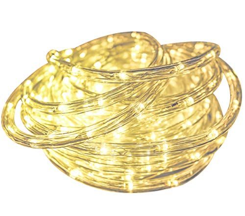 Salcar 10m LED Lichtschläuche 240er wasserfest LED Lichter mit 8 Modi Innen und Außenbereich Lauflichter für Saal, Garten, Weihnachten, Hochzeit, Party