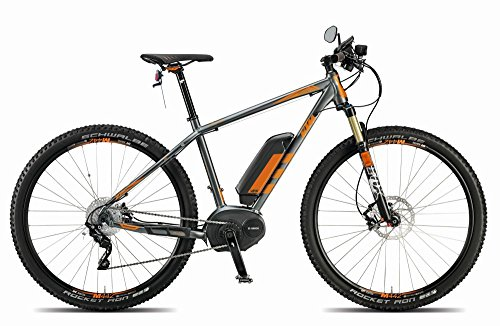 KTM Macina Moto 29 GPS+ 45 km/h Bosch, eBike, grau matt orange 2015 RH 53, 20 kg