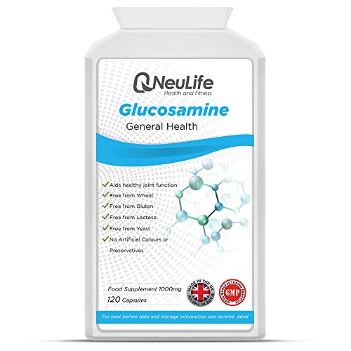 Gesundheit Glucosamin (Glucosamin Kapseln 1000mg - 120 Kapseln - Neulife Gesundheit und Fitness)