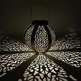 prosperveil Outdoor Beleuchtung Solar Power LED zum Aufhängen Sechskant Garden Yard Lampe