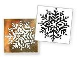 Artoz Crea Motions Stempel Schneeflocke 137606-59 Größe: 42 x 106 mm Bastelstempel, Weihnachtlich, Winterzauber