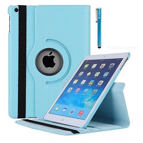 iPad Mini Fall 360Grad Drehbar Ständer Schutzhülle mit meijie Sleep/Wake Funktion für 20,1cm Schutzhülle für Apple iPad Mini 1/iPad Mini 2Fall/iPad Mini 3Fall Hellblau