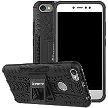 Bracevor Shockproof Redmi Y1/Redmi Y1 Lite/Xiaomi Redmi Note 5A Hybrid Kickstand Back Case Defender Cover - Black
