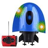 Dilwe RC U Boot, Mini Fernbedienung Elektrische Unterwasser Sightseeing Boot Modell Spielzeug(Blau)