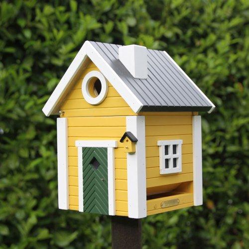 Wildlife Garden – Vogelhaus, Futterhaus, Nistkasten – Villa Plus – Holz