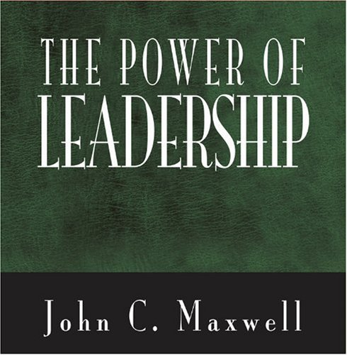 The Power Of Leadership (Power Series) by John C. Maxwell (2001-01-20)