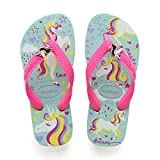Havaianas Kids Fantasy, Infradito Unisex Bambini, Multicolore (Ice Blue/Shocking Pink 9548), 31/32 EU