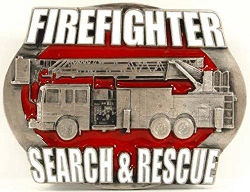 Firefighter Buckle, Search & Rescue, - Firefighter Gürtelschnalle