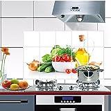 Bovake Küchen Oilproof entfernbare Wand-Aufkleber Kunst-Dekor-Abziehbild