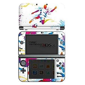 DeinDesign Nintendo New 3DS XL Folie Skin Sticker aus Vinyl-Folie Aufkleber Fussball Football Sport