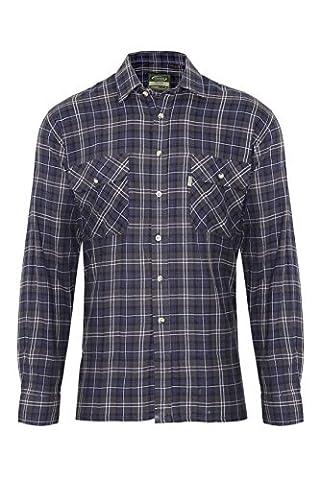 Classic Fit Country Check Lumberjack Work Shirt Champion Kilbeggan Cotton