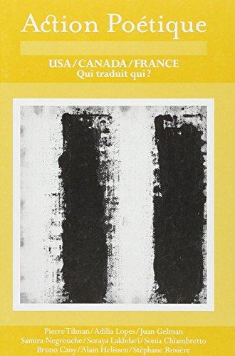 Action Poétique, N° 186 : Nouveaux poètes américains et français : Cauchemars par Hoang Hung