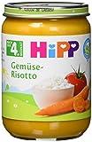 Hipp Gemüse-Risotto, 6-er Pack (6 x 190 g) - Bio