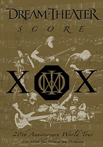 Score: 20th Anniversary World Tour - Live With the Octavarium Orchestra [3CD Set] by Dream Theater (2000-01-01)