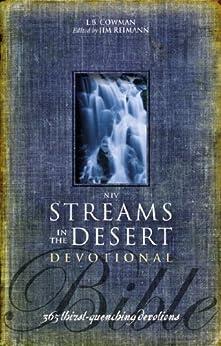 NIV, Streams in the Desert Bible, eBook: 365 Thirst-Quenching Devotions di [Cowman, L. B. E., Cowman, L. B. E.]