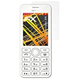atFolix Folie für Nokia Asha 206 Displayschutzfolie - 3 x FX-Antireflex-HD hochauflösende entspiegelnde Schutzfolie