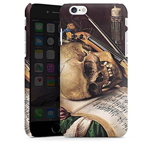 Apple iPhone X Silikon Hülle Case Schutzhülle Vanitas-Stillleben Kunst Art Premium Case matt
