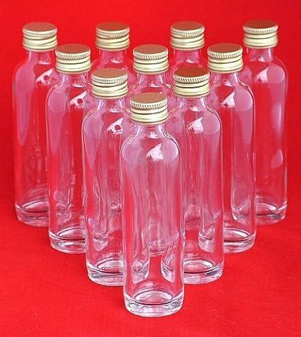 20 ml ou 40 ml mini bouteilles en verre avec bouchon à vis slkfactory