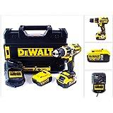 DeWalt DCD795P2-QW - Taladro Combi sin escobillas XR 18V 13mm 60Nm Li-Ion 5,0Ah con maletín TSTAK