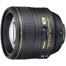 Nikon AF-S FX Nikkor 85mm f/1.4G Objectif avec Mise au Point Automatique pour appareils Photo réflex numériques Nikon (certifié reconditionné), Objectif Uniquement, Noir