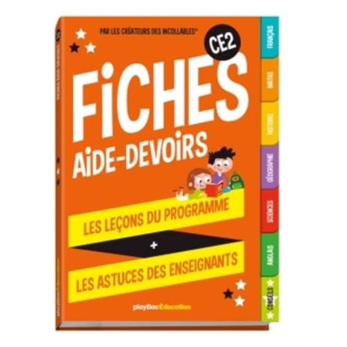 Mes fiches aide-devoirs - CE2