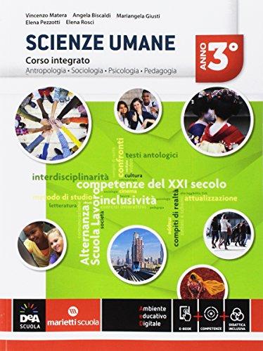 Scienze umane. Corso integrato LSU. Per la 3ª classe delle Scuole superiori. Con e-book. Con espansione online: 1