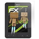 Trekstor eBook Reader Pyrus Spiegelfolie - atFoliX FX-Mirror Displayschutz Folie mit Spiegeleffekt