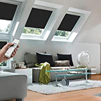 Original VELUX Premium Solar Verdunkelungs Rollo DSL U08 / 808 3009 Uni  Schwarz Passgenau Für