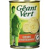 Géant Vert - Cœurs d'Artichauts 240 g - Lot de 6