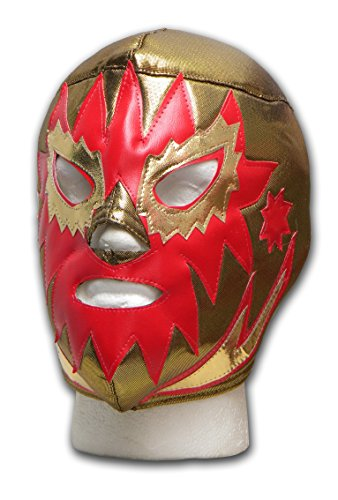 Luichadora Solar Or Masque catch mexicain adulte Lucha Libre