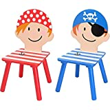 La chaise longue Lot de 2 chaises enfant pirate Réf 33-1E-019