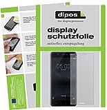 dipos I 2X Schutzfolie matt passend für Nokia 5 Folie Displayschutzfolie