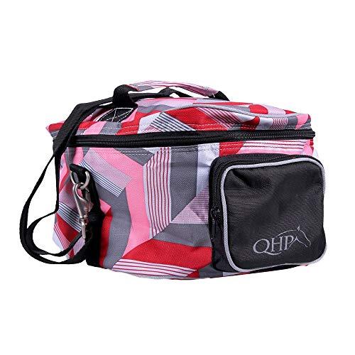 netproshop Reithelmtasche in modernen Designs Reitsport Turnier Zubehör, Farbe:Virtual Pink