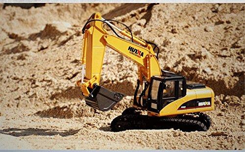 RC Auto kaufen Baufahrzeug Bild 2: FM1550 | Ferngesteuerter Kettenbagger mit voller Funktion, Bagger mit Fernsteuierung, ferngesteuert mit Akku und Ladegerät*