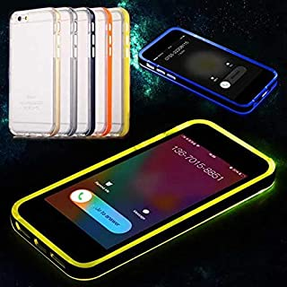 K8U128 @FATO LED Flashlight UP Remind Incoming Call Cover Case For iPhone 6 6s 4.7