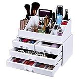 Songmics Makeup Organizer Acrylic Bathroom Storage Box JKA0010