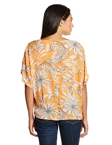 Vero Moda Damen, Top, VMPAMALA 24 TOP Orange - Orange (Bird of Paradise)